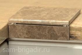 Столешница из плитки как сделать двухуровневая столешница на кухне фото
